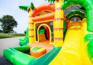 Hüpfburg Jumpy Fun Dschungel Aufnahme 2