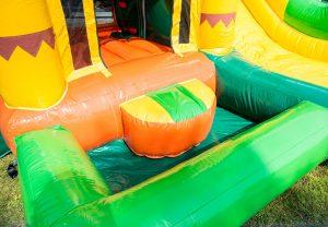 Hüpfburg Jumpy Fun Dschungel Aufnahme 3