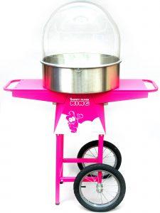 Zuckerwatte-Maschine seitlich