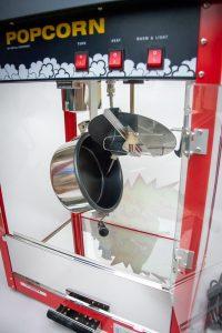 Popcorn Maschine Detailaufnahme