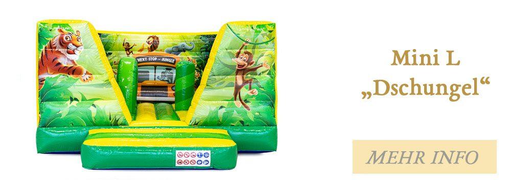 Hüpfburg Mini L Dschungel